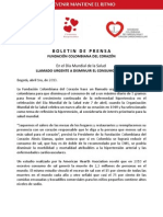 Boletín Día Mundial de Salud