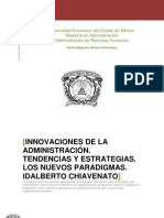 INNOVACIONES DE LA ADMINISTRACIÓN. TENDENCIAS Y ESTRATEGIAS. LOS NUEVOS PARADIGMAS