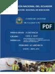 Modulo No. 5 Su y Transito 2013