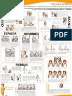 Ilustración ejercicios Pausas Activas