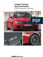 BMW M3 Aftersales Training Information