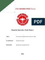 MANUAL DE OPERACION DEL FEEDER PLANTA Nº1