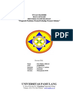 Metodelogi Pengaruh Penilaian Prestasi Dwi (Soft Copy)