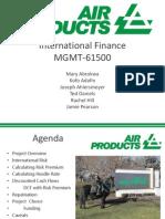 International Finance Template