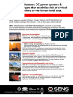 sens products  capabilities brochure