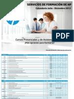 Calendario Formacion HP Jul-Dic 2012