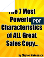 Clayton Makepeace - 7 Most Powerful Characteristics of ALL Great Sales Copy
