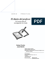 PORLAN, Rafael - El Diario Del Profesor - Un Recurso Para La Investigacion en El Aula