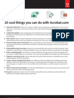 10 Cool Things You Can Do With Acrobat.com