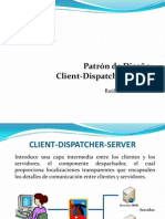 Client Dispatcher Server