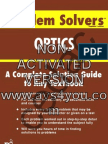 The Optics Problem Solver, Fogiel - REA Publishers
