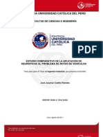 Comparación de Heurísticas al Problema de Ruteo de Vehículos (2011) - Tesis. J.J. Cadillo Paredes (70)
