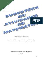 Atividades de Matemática - TRATAMENTO DA INFORMAÇÃO