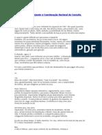 Carta de Cesar Bnjamin a Consulta Popular