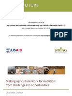 1.4 Agriculture Nutrition Linkages Value Chain Dufour