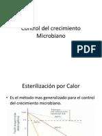 Control Del Crecimiento Microbiano