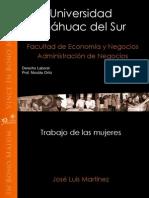 Derecho Laboral Trabajo de Las Mujeres (JL)