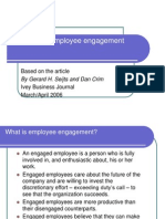 10 Cs of Employee Engagement