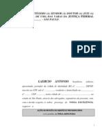 Modelo Ação Revisão Benefício Previdenciario Auxilio Doença 9%.docx