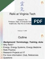 Reiki Lecture