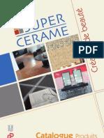Catalogue Super Cerame