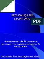 SEGURANÇA NO ESCRITÓRIO