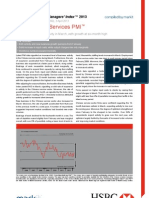 130403 HSBC China Services March 2013 PMI - Report