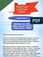 Penentuan Struktur Material..