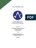 Spill Response Plan