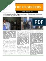 E Newsletter 22 January 2013