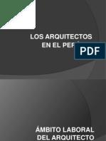 Ambito Laboral Del Arquitecto