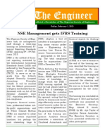 Nse Hq March 2013 Newsletter