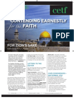 Contending Earnestly for the Faith - November 2012