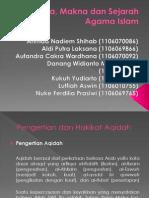 Presentasi Bab II Kajian Dasar Islam