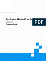 ZTE UMTS Particular Radio Function Feature Guide_V5.0_20110407