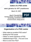 Basic Genetics ion Pgd Centre Thornhill