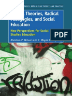 Critical Theories, Radical Pedagogies, And Social Education