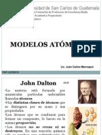 PRESENTACIÓN MODELOS ATÓMICOS