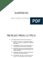 Antoniovictor Arquivologia Completo 077 Exercicios Fcc
