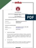 Syllabus Liderazgo y Comportamiento - Prof. Arbaiza - Piura 06