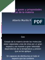 Leyes de Los Gases y Priopiedades Fisicas de La Materia