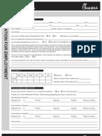 CFA Team Member Application