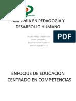 El enfoque de formación por competencias - Presentación