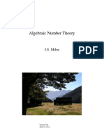 Milne, J. S. - Algebraic Number Theory