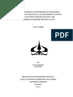 Skripsi Elias Bidaugi Pigome Mengenai Optimization of Drilling and Blasting Activities