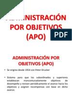 1. Administracion Por Objetivos - APO