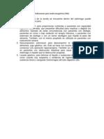 Indicaciones para sonda nasogástrica