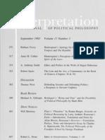 Interpretation, Vol 11-3