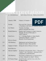 Interpretation, Vol 14-1