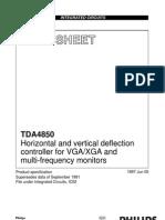 Viewsonic E655_TDA4850 Vertical Horizontal Controller